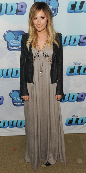 Ashley Tisdale at the premiere of Cloud 9 at the Disney Channel Theatre in California - 18 December 2013