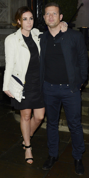 Dermot O'Leary and wife Dee arrive at official X Factor after party in London - 15 December 2013
