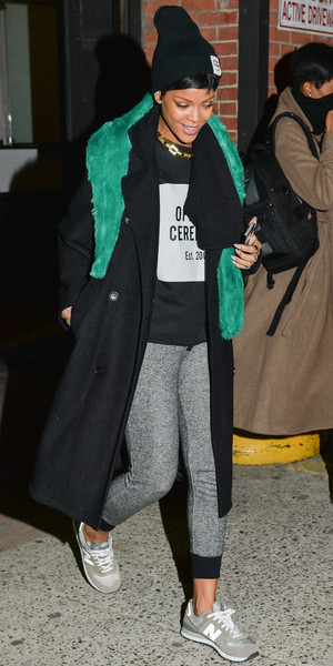 Rihanna out and about, New York, America - 13 Dec 2013