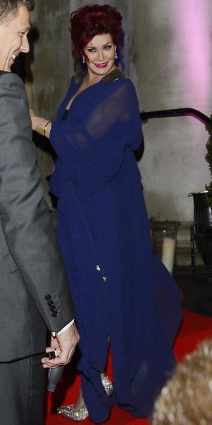 Sharon Osbourne arrives at official X Factor after party in London - 15 December 2013