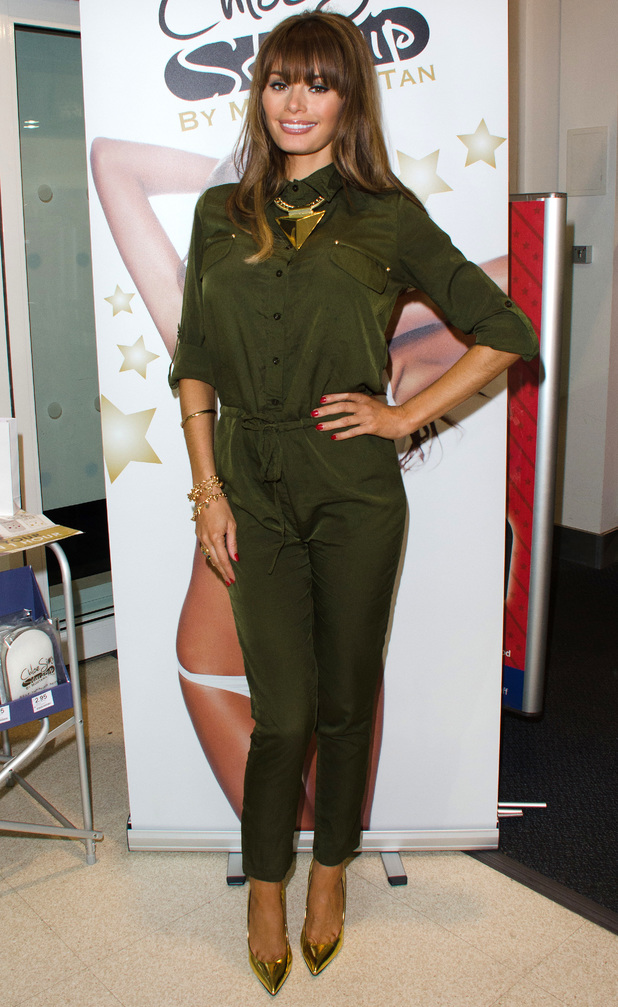 Chloe Sims launches Chloe Sims Starship Tanning in Boots, Brentwood - 14 December 2013