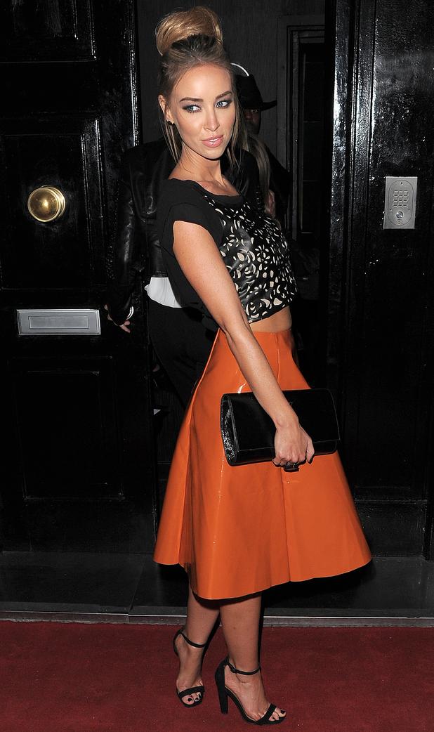 Lauren Pope - 9 Swallow Street launch party, London - 22 November 2013