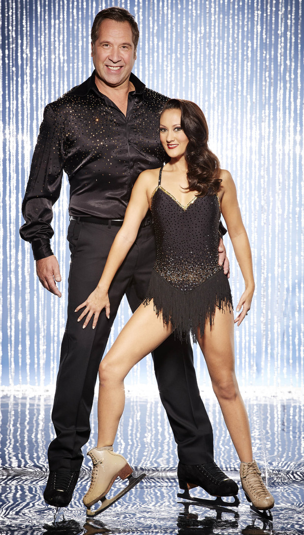 Dancing On Ice 2014: David Seaman and Frankie Poultney (previously Pam O'Conner)