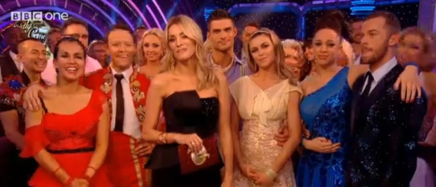 Strictly Come Dancing 2013 final, 21 December 2013