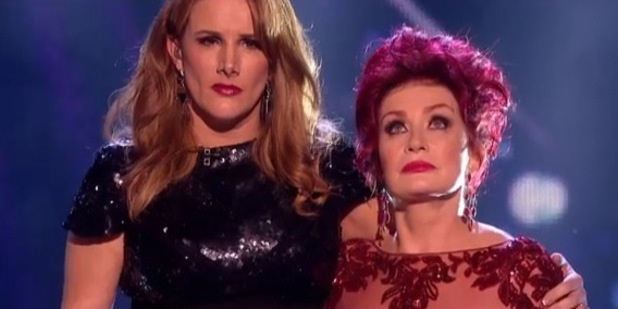 X Factor's Sam Bailey in new 'Skyscraper' music video. - Sharon Osbourne (20 December).