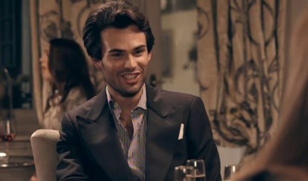 Made In Chelsea's Mark Francis (16 December).