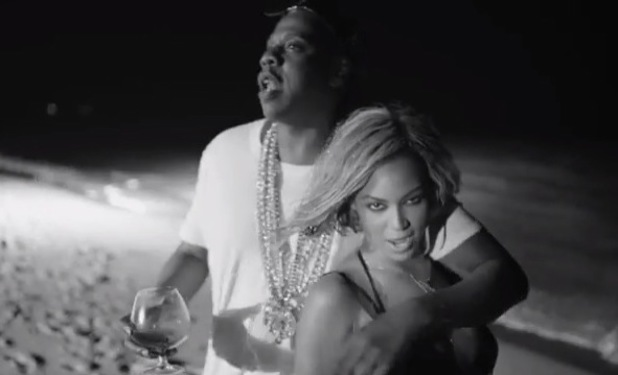 Beyonce and Jay-Z in 'Drunk In Love' music video