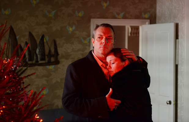 Corrie, Janine confesses to David, Fri 20 Dec