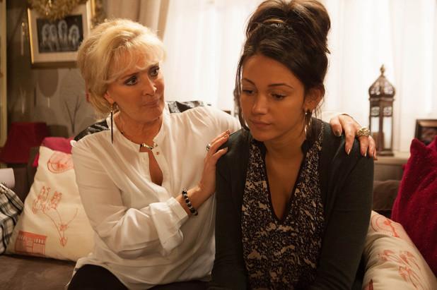 Corrie, Tina confides in Liz, Wed 1 Jan