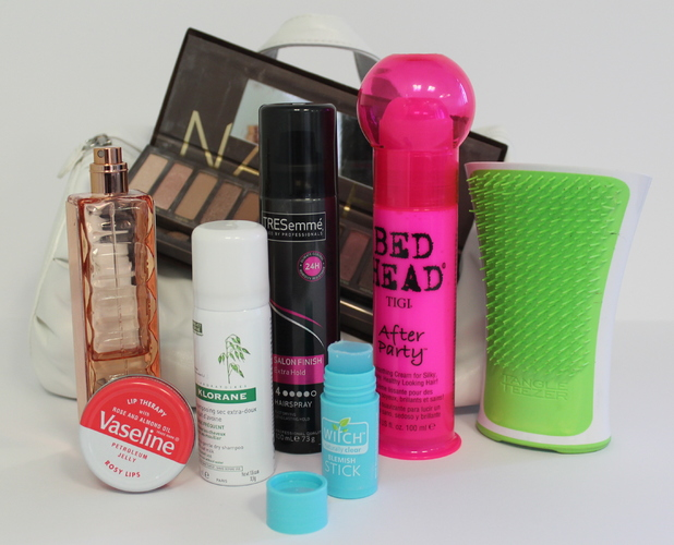 Made In Chelsea star Lucy Watson's make-up bag - December 2013