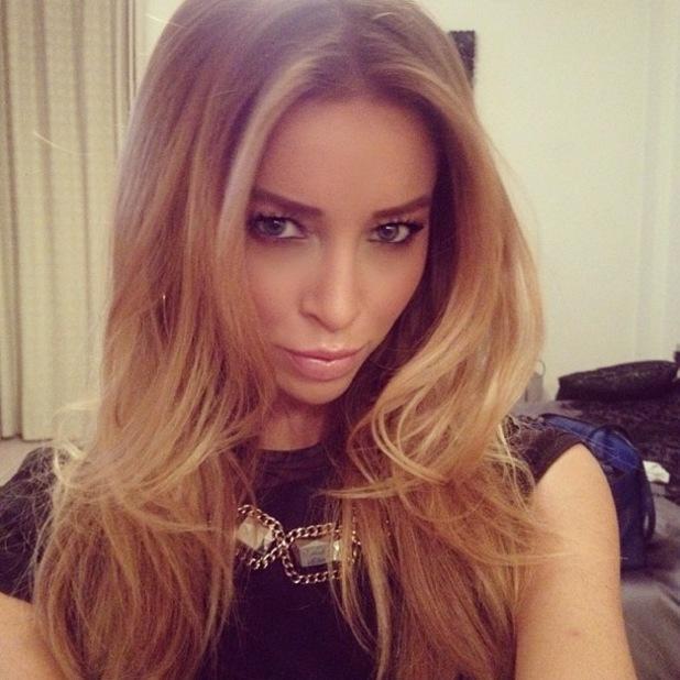 TOWIE's Lauren Pope posts an Instagram selfie - 7 December 2013