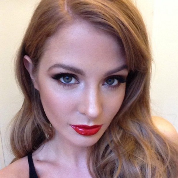 Millie Manderson shows off party make-up on Instagram - 26 November 2013