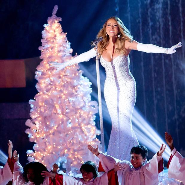 Rockefeller Center Christmas Tree Lighting Ceremony, New York, America - 03 Dec 2013 Mariah Carey 3 Dec 2013