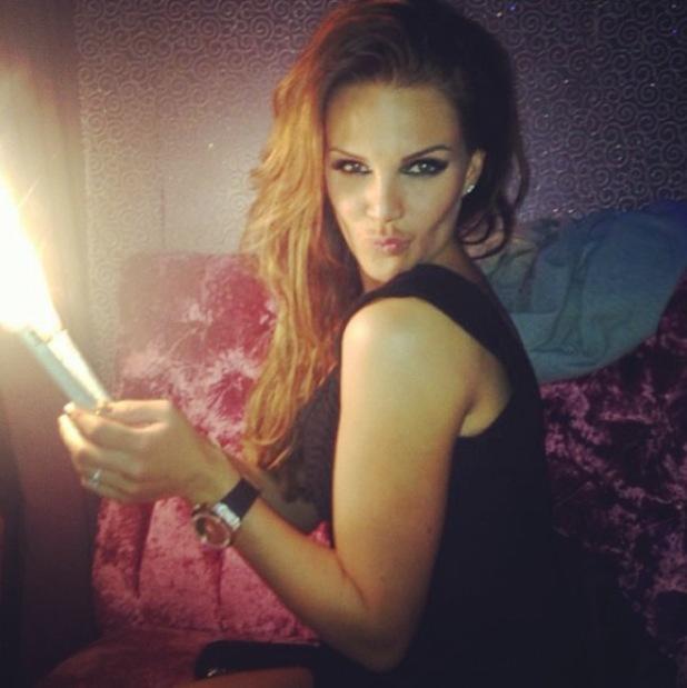 Danielle Lloyd celebrates her 30th birthday - 14 December 2013