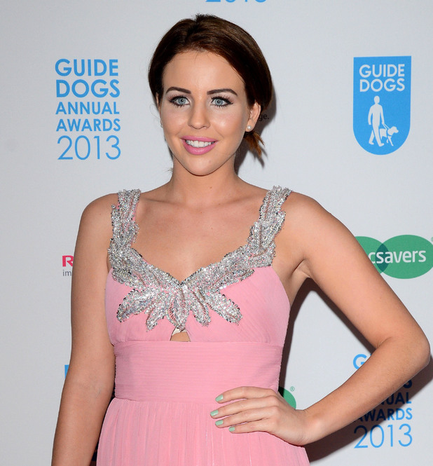 Lydia Bright, Guide Dog of the Year Awards and Charity Ball at the London Hilton - Red Carpet Arrivals, 11 December 2013