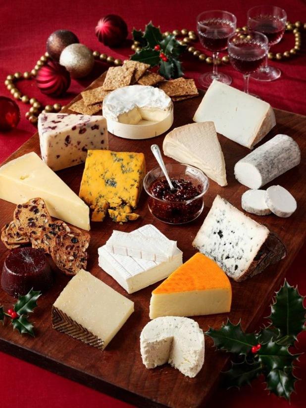 Juliet Harbutt christmas cheeseboard