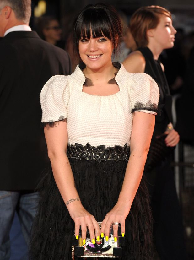 Lily Allen, 'Saving Mr Banks' film premiere at the 57th BFI London Film Festival, London, Britain - 20 Oct 2013