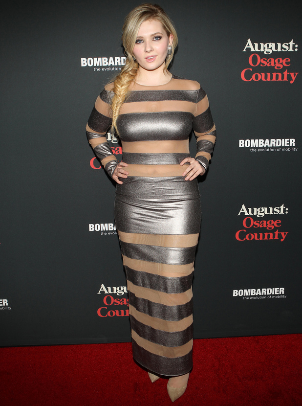 """Abigail Breslin - The Weinstein Company Presents The LA Premiere Of """"August: Osage County"""" - 16 December 2013"""