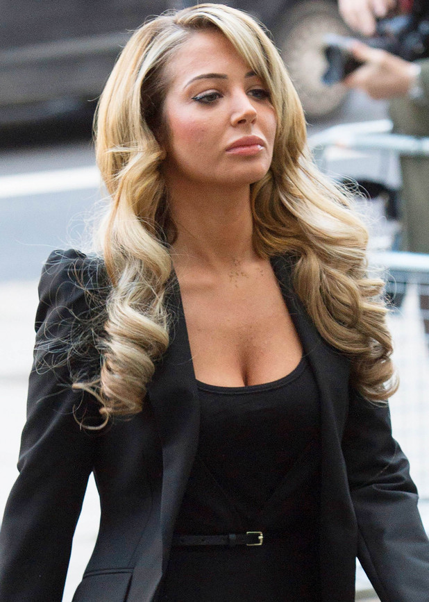 Tulisa Contostavlos charged in connection with the supply of Class A drugs, Westminster Magistrates' Court, London, Britain - 19 Dec 2013