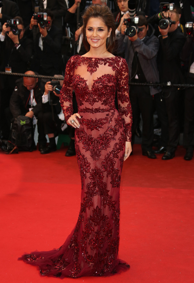 Cheryl Cole - 66th Cannes Film Festival - Jimmy P. Psychotherapy of a Plains Indian - Premiere, France, 18 May 2013
