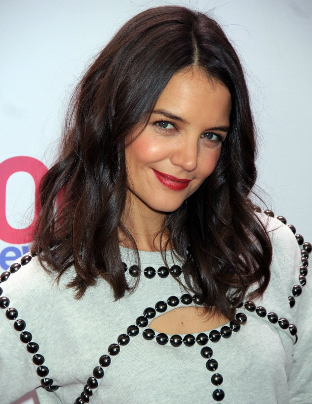 Katie Holmes, The 2013 Jingle Bell Ball held at Madison Square Garden - Arrivals, 14 December 2013