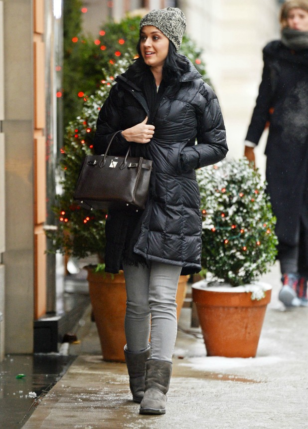 Katy Perry and Allison Williams out and about, New York, America - 17 Dec 2013