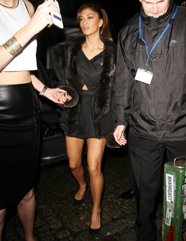 Nicole Scherzinger out and about in London, 16 December 2013