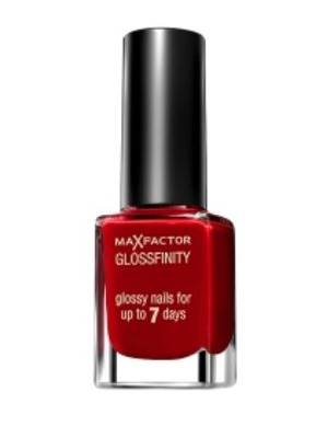 Max Factor Gloss Finity Nail Polish in Red Passion