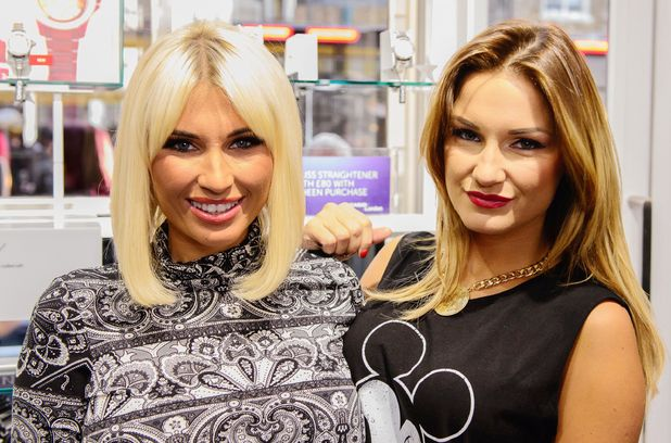 Sam and Billie Faiers, Launch of 'Sheen' range of Casio watches, London, Britain - 06 Dec 2013