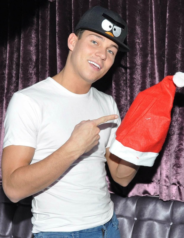 Joey Essex makes a personal appearance at Earth nightclub in Drogheda, 22 December 2013