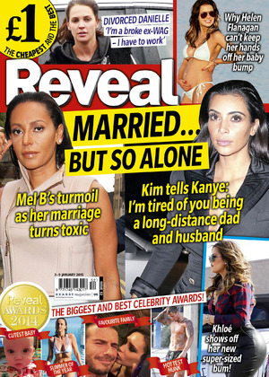 Reveal magazine cover week 52, on sale 30 December 2014