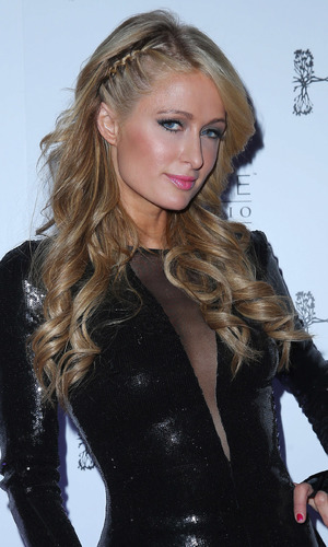 Paris Hilton at Hyde Bellagio In Las Vegas for her New Year's Eve DJ set - 31 December 2013