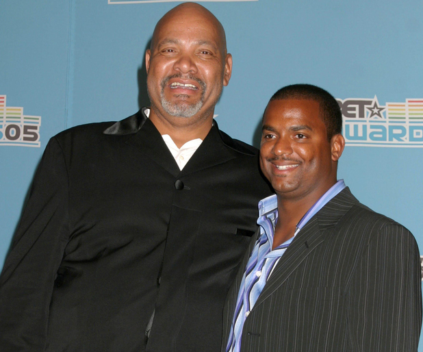 JAMES AVERY and ALFONSO RIBEIRO BET Awards - Press room held at the Kodak Theatre Los Angeles, California - 28.06.05