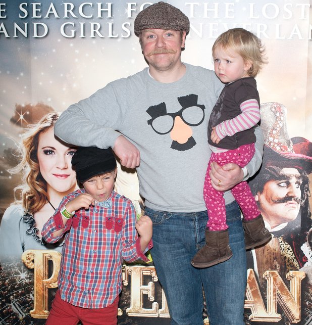 Rufus Hound: Peter Pan: The Never Ending Story - VIP night held at the Wembley Arena - Arrivals. - 2 January 2013