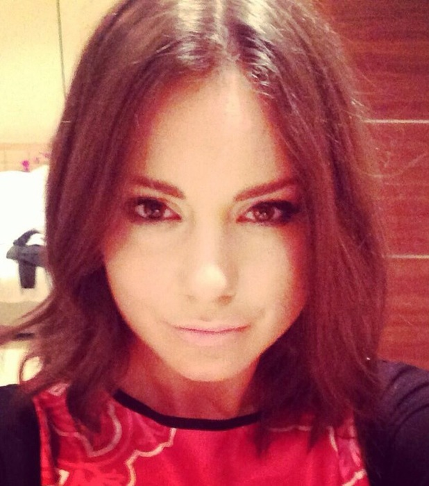 Made In Chelsea's Louise Thompson shows off new bob hairstyle on Twitter - 31 December 2013