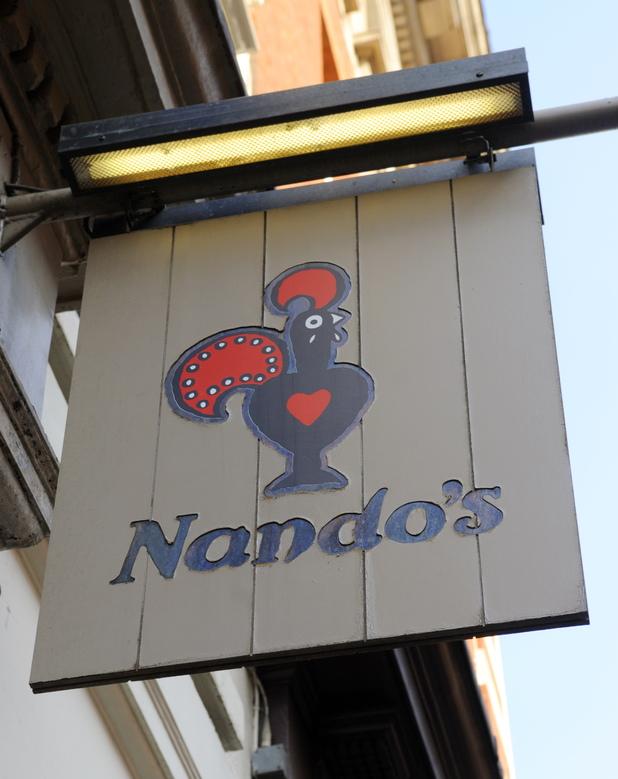 Various Nando's Restaurant Sign 2009