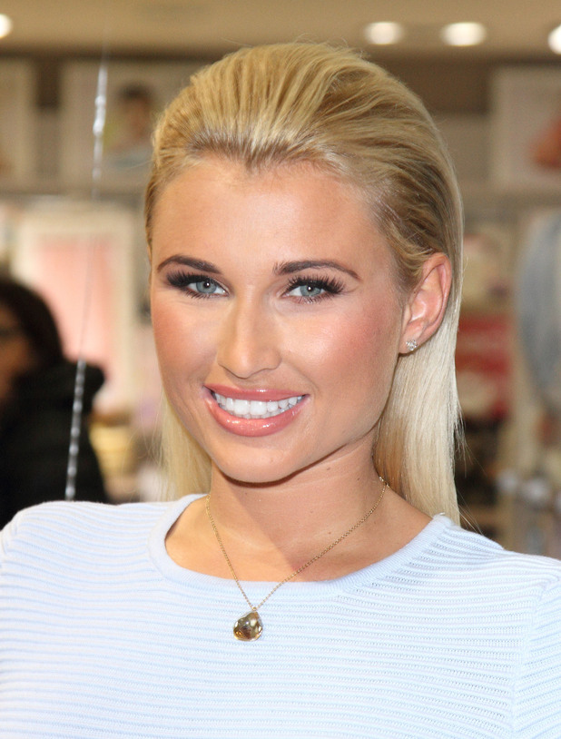 Billie Faiers launches her pushchair range 'The Signature Range' with 'My Babiie' at Mothercare Oxford Street, London, 28 November 2014