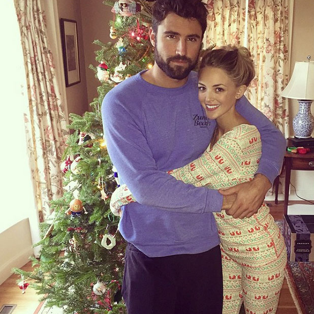 Brody Jenner and Kaitlynn Carter celebrate Christmas together, 25 December 2014