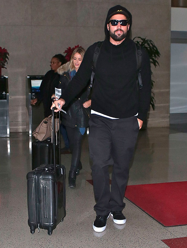 Brody Jenner departs Los Angeles from LAX 30 December 2014