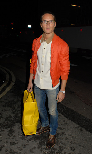 The London Collections: Men Autumn/Winter 2014 - Casely-Hayford catwalk show at BFC Showspace - 7.1.2014 Rosie Fortescue and Oliver Proudlock