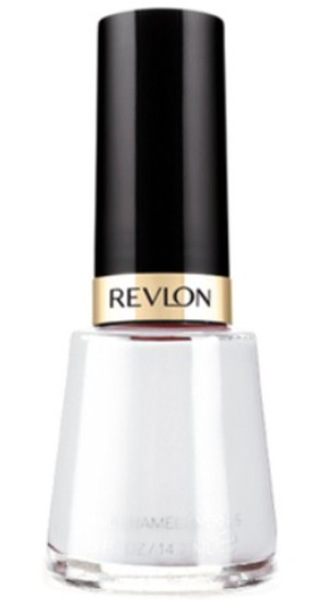 Revlon Nail Enamel in White on White