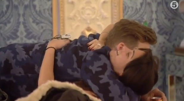 Celebrity Big Brother- Day 5- Lee Ryan and Casey Batchelor talk about their relationship.