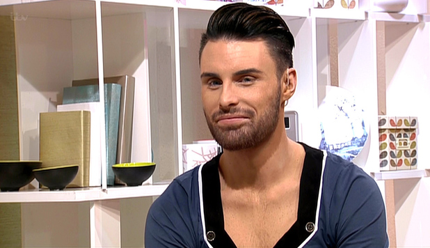 Rylan Clark appears on 'This Morning' to talk about presenting 'Big Brother's Bit On The Side' shown on ITV1 HD