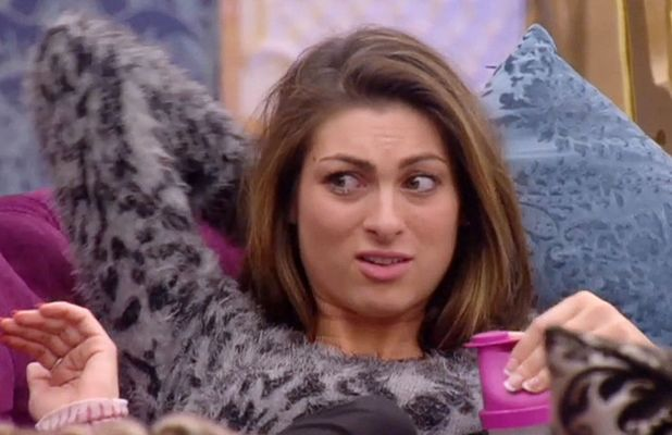 Luisa Zissman in the CBB house, 11 January 2014