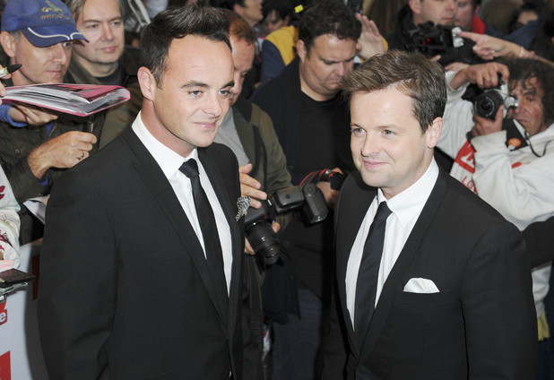 Ant McPartlin,Declan Donnelly attend the TV Choice Awards, 9 September 2013. London.