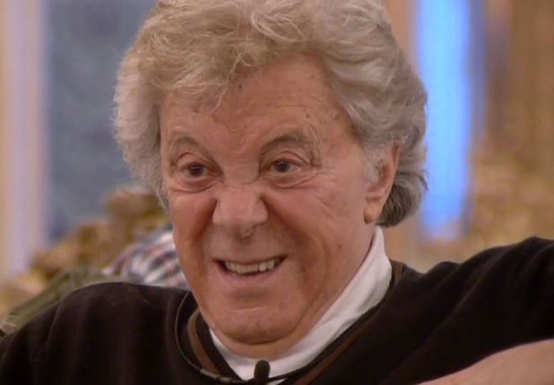 Lionel Blair in the CBB house, 11 January 2014