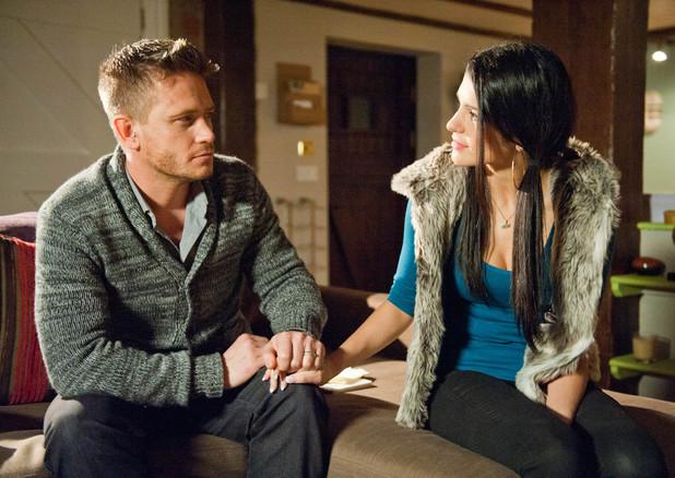 Emmerdale, David and Alicia disagree over Leyla, Wed 8 Jan