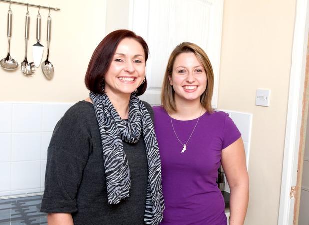 Antonia and her mum