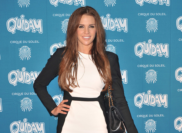 Danielle Lloyd at the Cirque du Soleil 30th anniversary performance of Quidam held at the Royal Albert Hall - Arrivals. 01/07/2014