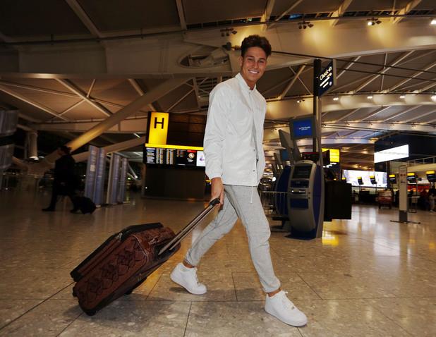 Joey Essex prepares to travel to Africa, London, Britain - 05 Jan 2014
